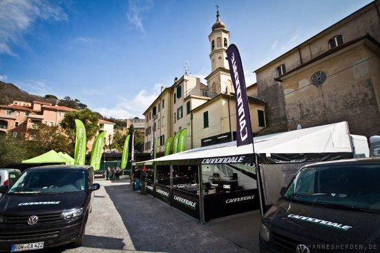 Hotel Florenz - Basecamp des Cannondale-Teams