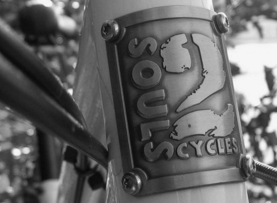 2Soulscycles Steuerrohr Badge