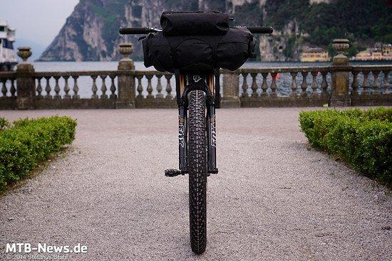 Fette Reifen, Gepäck, und Federung