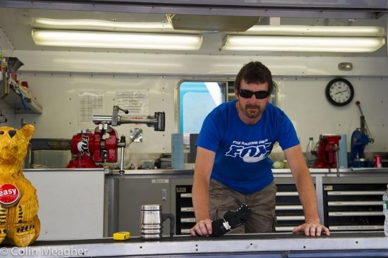 Fox Racing Shox Federungs-Guru Mark Fitzsimmons.