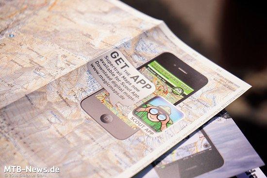 Novum: Supertrail Maps auch in der App