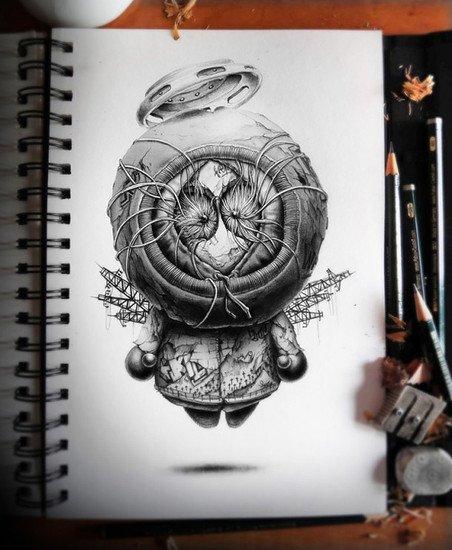 Distroy pez artwork 7