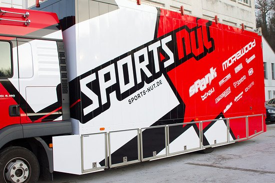 Der Sports Nut-Eventtruck