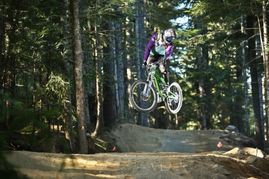 Whistler B.C. A-Line Triple Jump