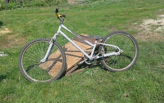 Dirtbike Selbstgebaut ...