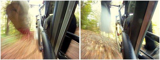 Collage mit GoPro Bildern