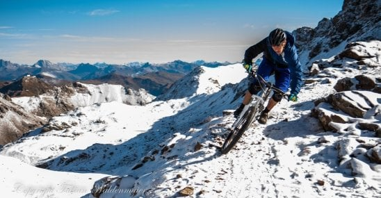 David Graf enjoy snowriding !