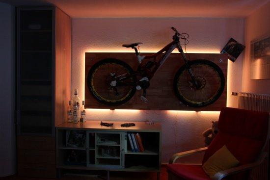 FlatlineDeko mit LED
