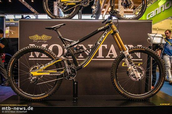 Das Bike des Siegers: Mit exakt diesem Bike fuhr Gee Atherton dieses Jahr bereits zwei Mal zum World Cup-Sieg.