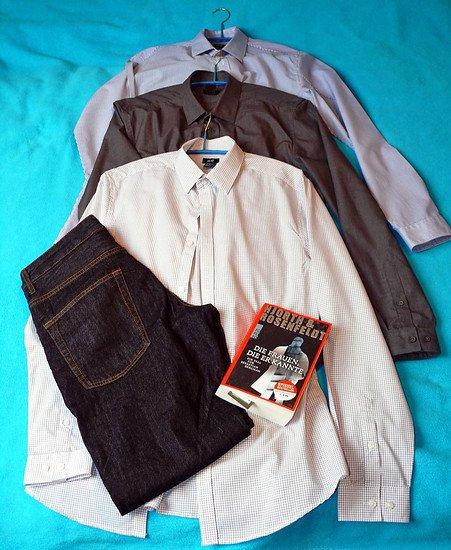 Hemden Jeans Buch