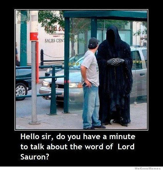 the word of lord sauron