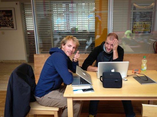 Video-Workshop mit Jens