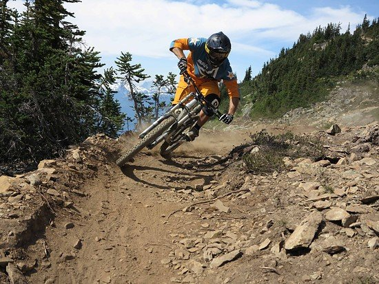 WHISTLER-top of the world trail