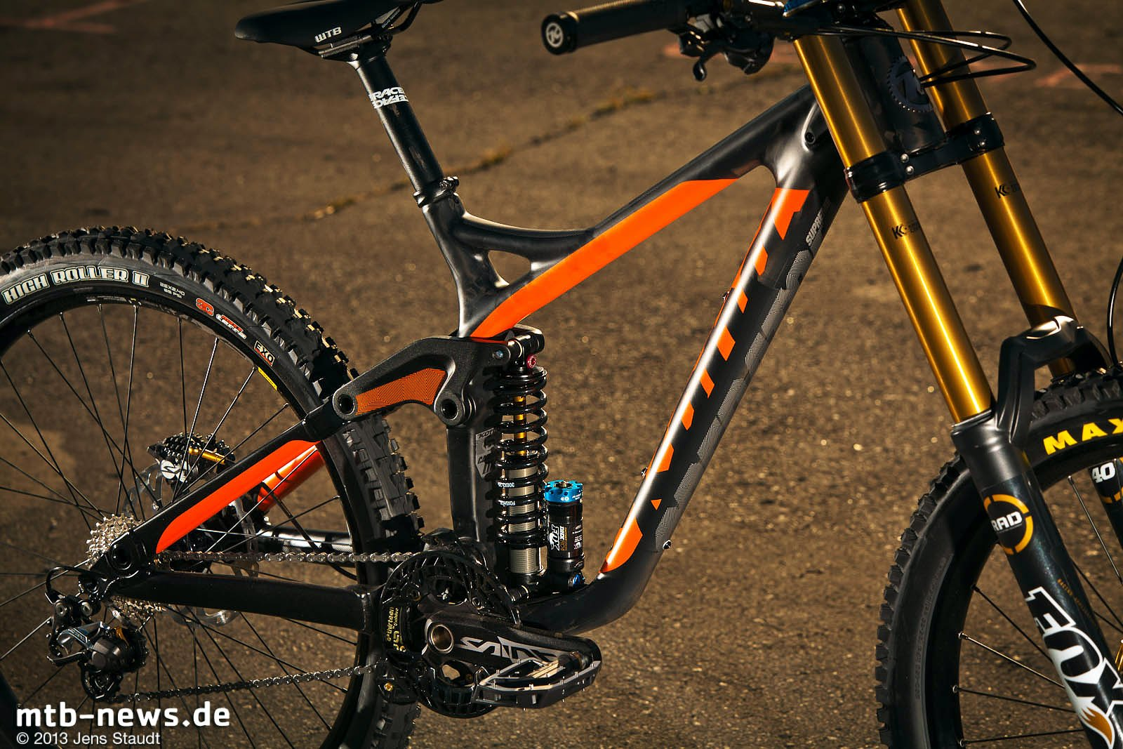 Foto: Kona Carbon Operator - Rahmen - MTB-News.de
