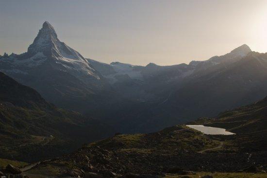 Schweiz 2012 / Matterhorn im Abendlicht
