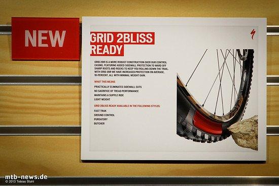 Specialized 2014 - Reifen Grid 2Bliss Ready