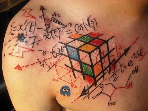 foto rubiks cube formula tattoo mtb. Black Bedroom Furniture Sets. Home Design Ideas