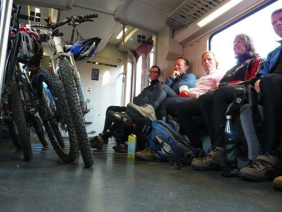 ach war die Zugfahrt lustig...