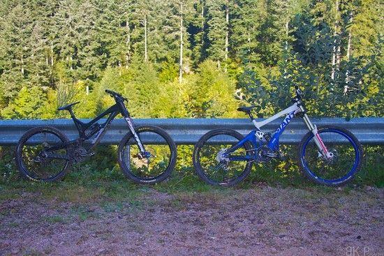 2 ranzige Bikes in Lac Blanc