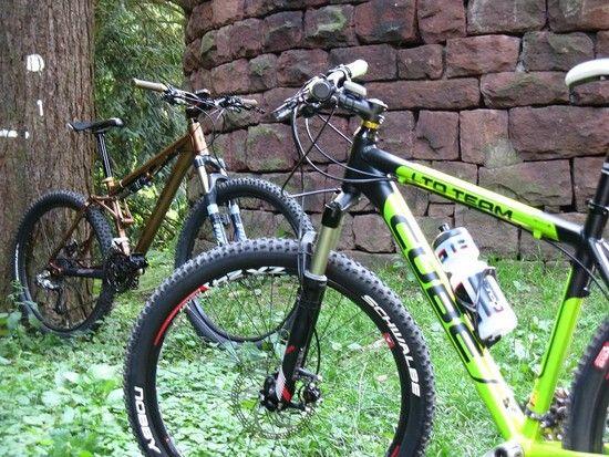 Felix und mein Bike