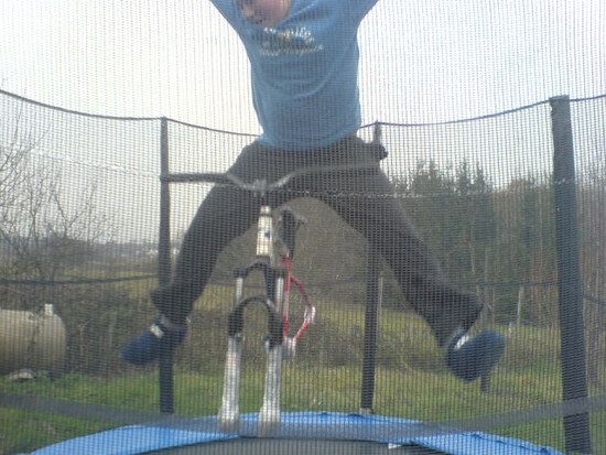 freestyle trampolin jumpen