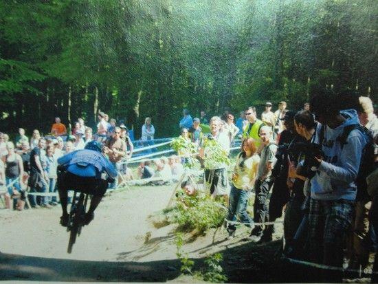 MTB rider foto