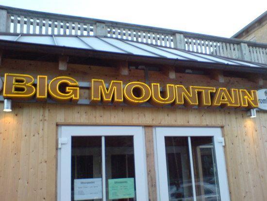 Big Mountain Schmeckts?