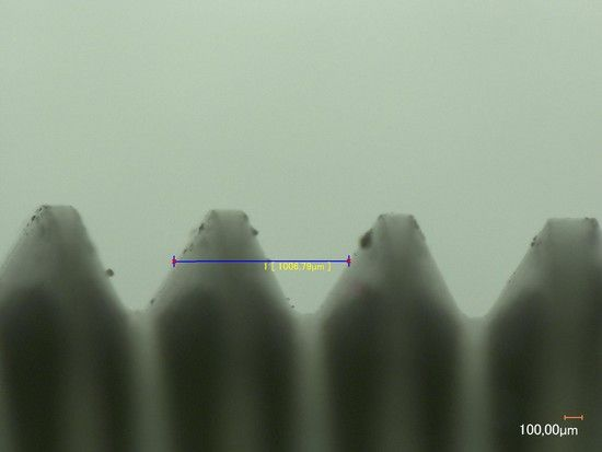 M8x1x63 Steigung