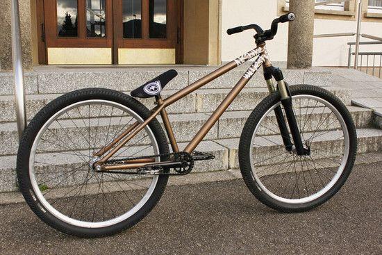 Fahrrad mit zwei Rädern