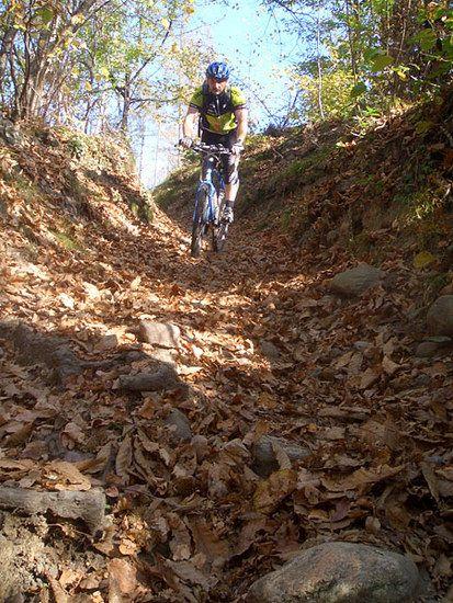 Trail bei Kaltern