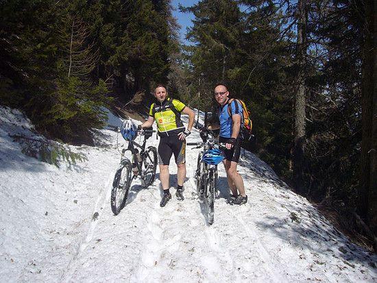 Schneetour in Südtirol