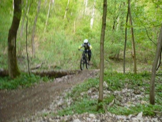 Strecke in Heubach