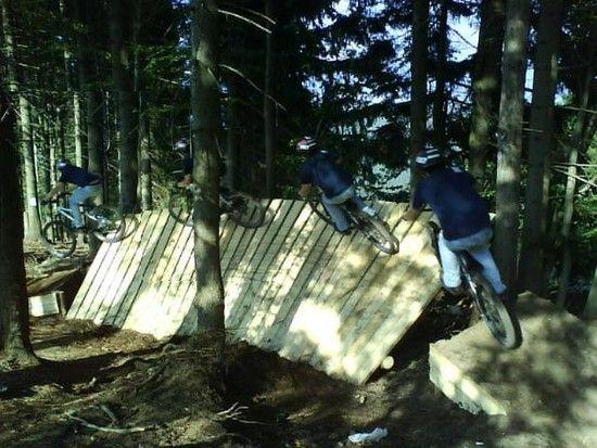 Neuer Trail am Geißkopf