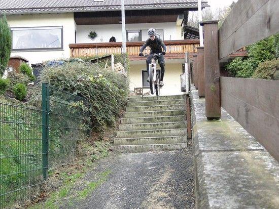 Serienbildaufnahme Test, Treppe