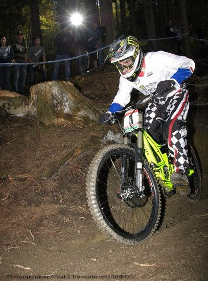 Sam Hill Schladming WC 2009