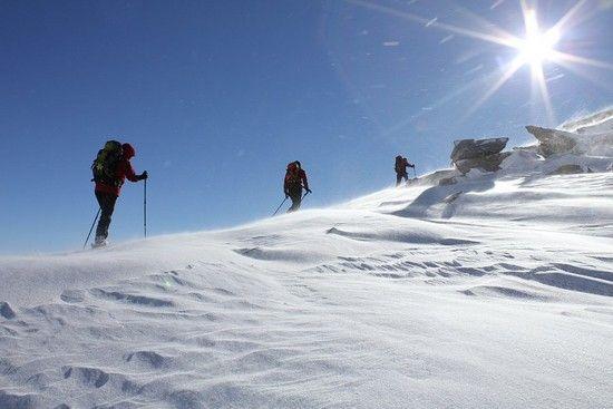 Leckihorn 3068 m...eisig