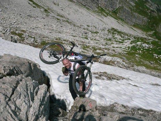 Bikebergsteigen