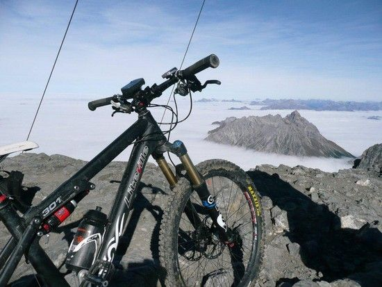 29xx m ...über den Wolken