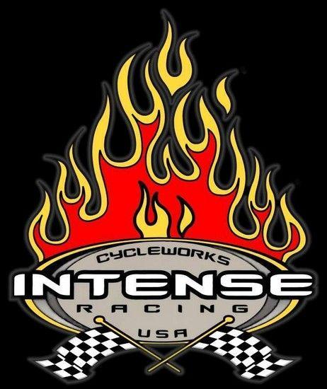 Intense Flames logo