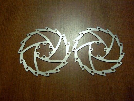 handmade rotor Titanium 70g