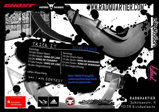trickit 2012 Flyer