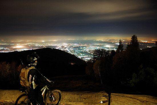 Nightride: Blick auf Heidelberg