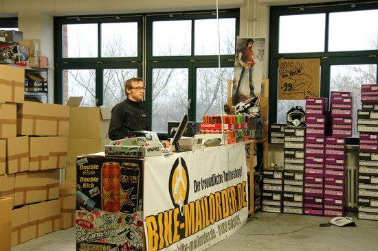 Bike-Mailorder.de - Abholertheke