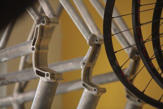 Rahmen mit Pinion Aufnahmen