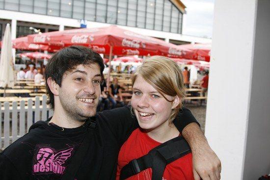 Mr. T und Freundin