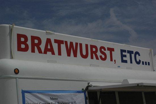 Bratwurst @ Sea Otter