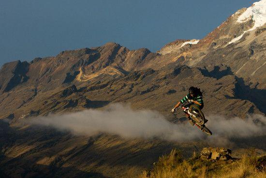 Joe Schwartz in Sorata (Bolivien)