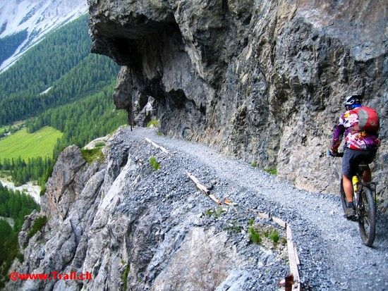 Val d'Uina Schlucht 30-06-2009