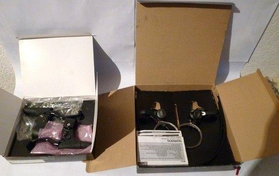 XT Thumbies SLR Levers neu&ovpMIB2
