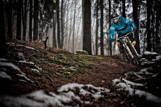winter ride in da jungle